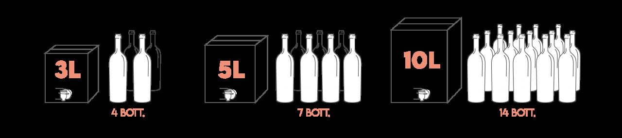 Vino in Bag In box